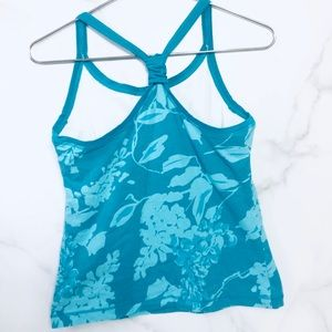 Racerback Tank Active Stretch Lounge Graphic Print